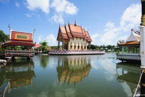 Храм на воде - Wat Plai Laem Samui